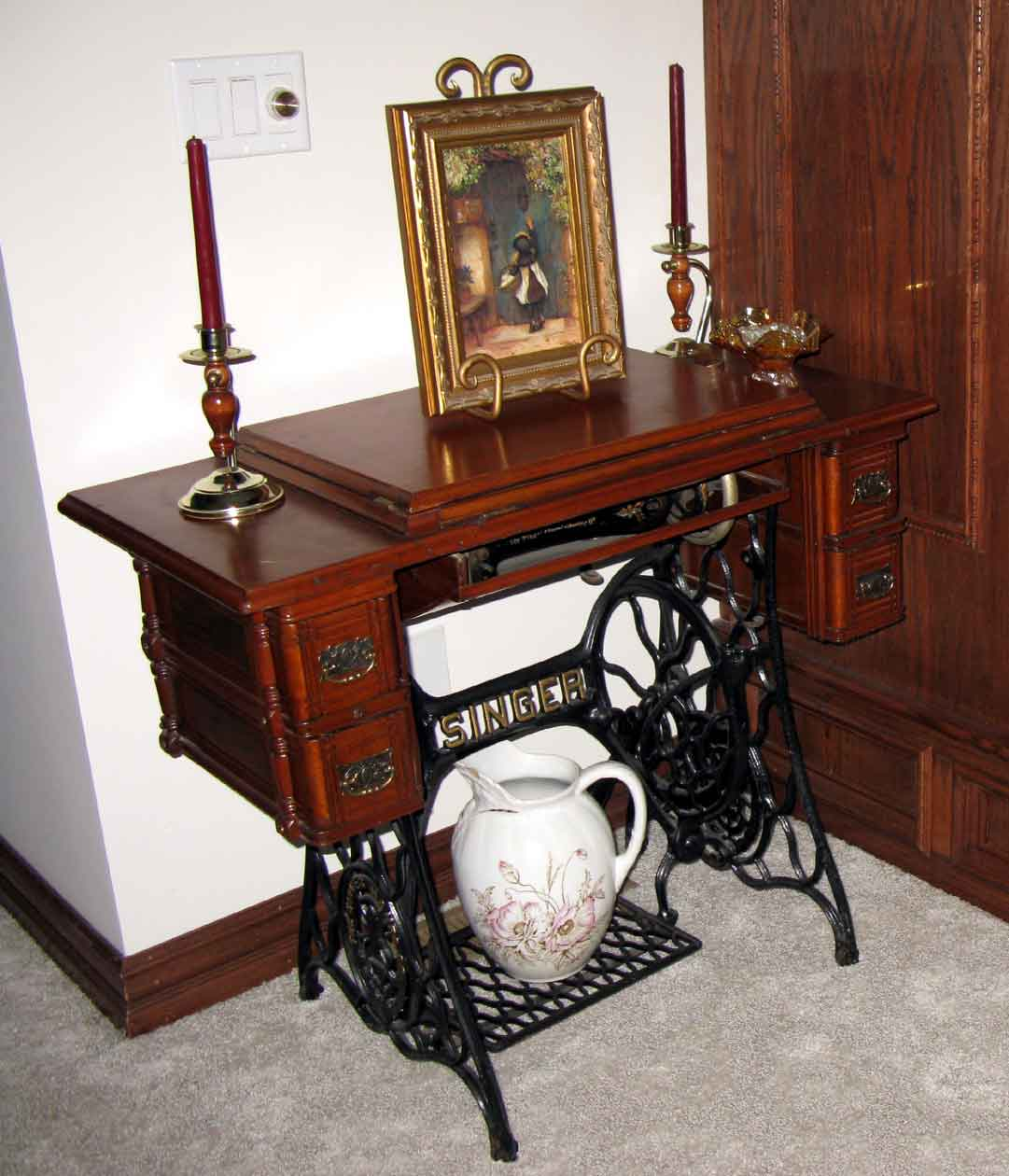 My Grandmother's Treadle Singer | Carla Barrett
