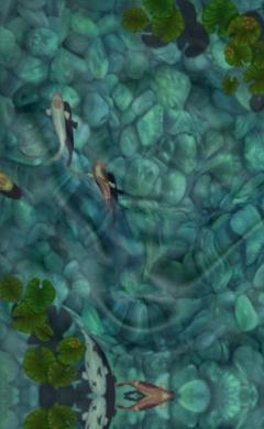 New apps carla barrett for Virtual koi fish pond