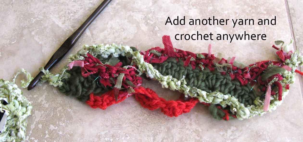 Carlas Freeform Crochet Scarf Tutorial Carla Barrett