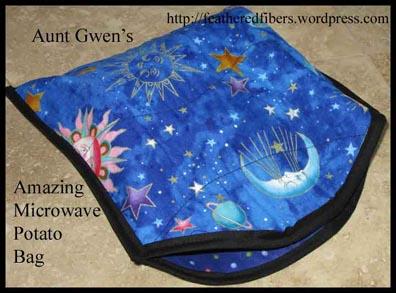 Aunt Gwens Microwave Potato Bag Carla Barrett