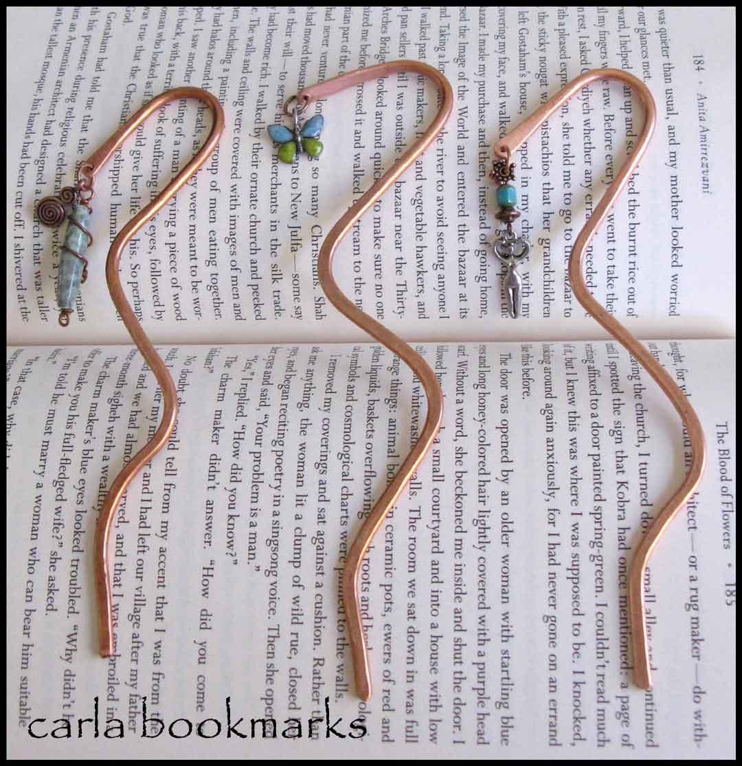 Copper Bookmark Tutorial | Carla Barrett