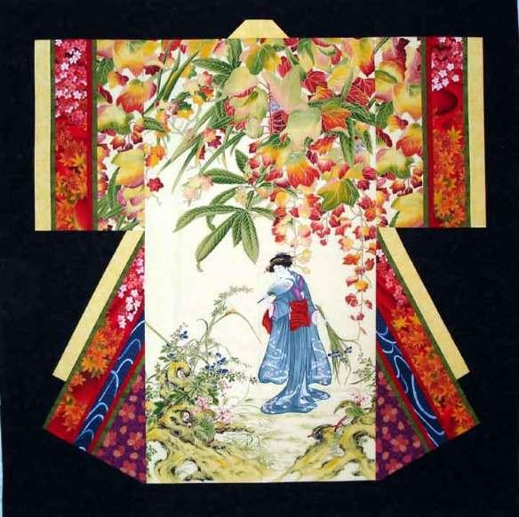 kimono-wall-hanging