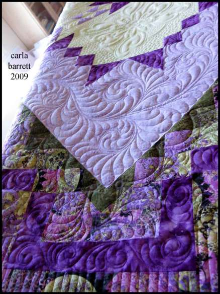 Quilting by Carla Barrett, Piecing and design by Barb Kiehn