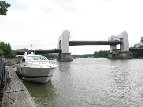 Docked at Troy, NY