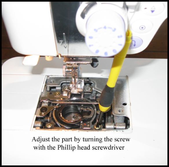 How To Fix A Janome Bobbin Case From Shifting
