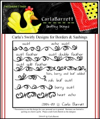 Carla Swirly Designs for Borders and sashing