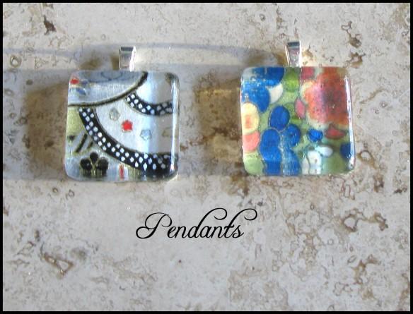 front pendants