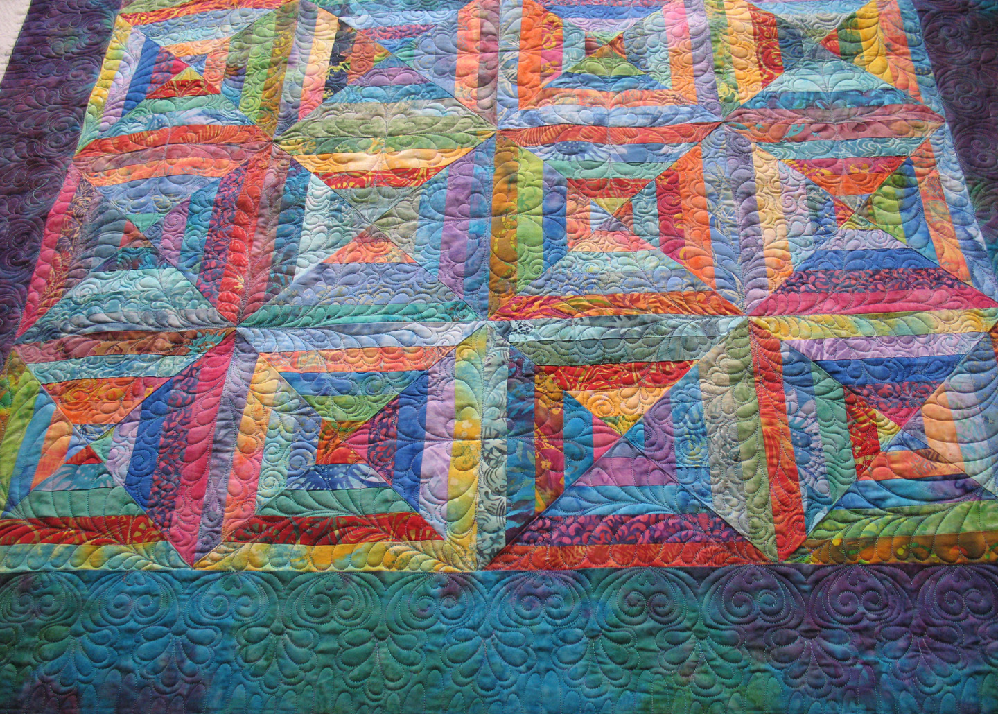 Batik Layer Cake For Quilting