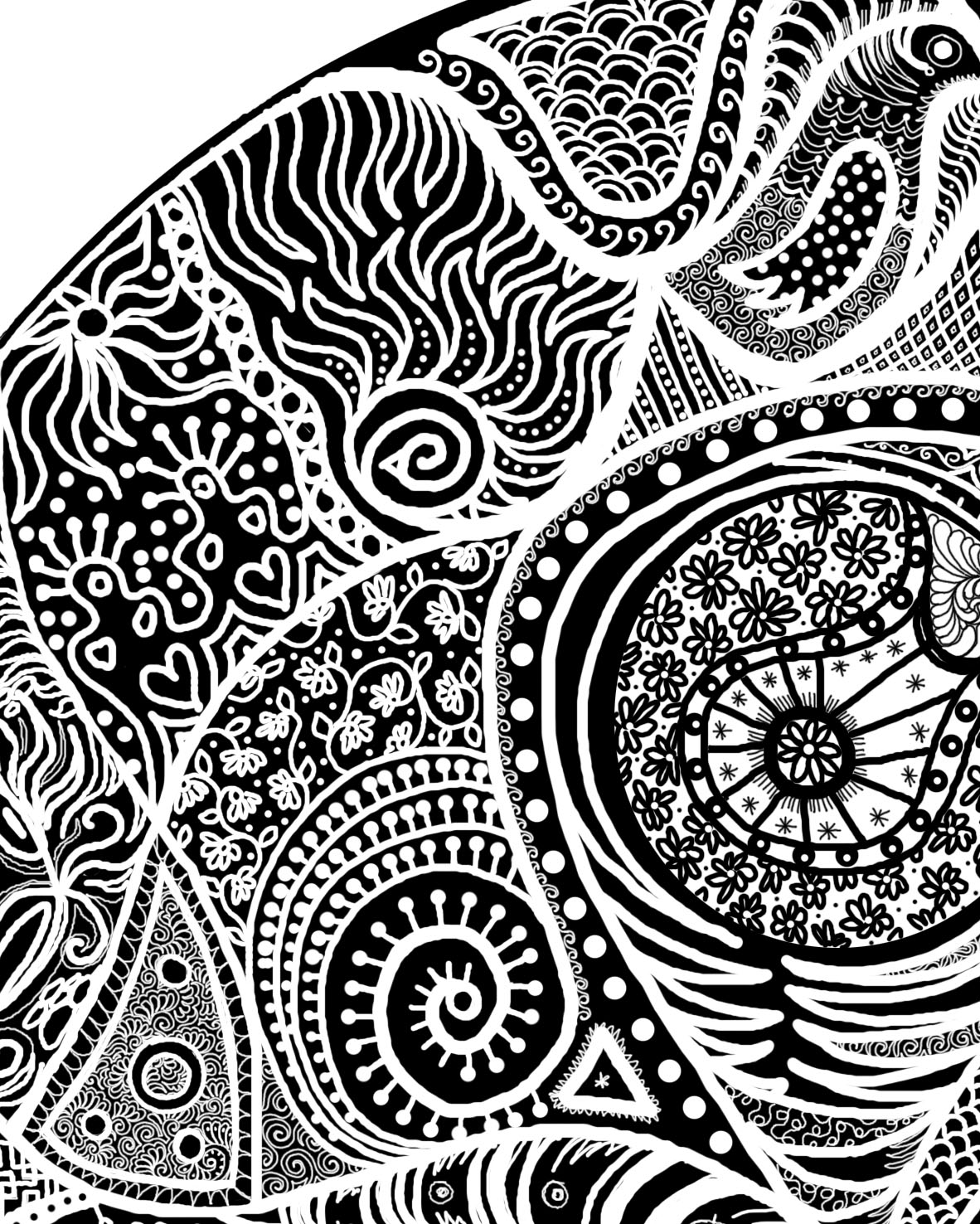 Doodle mandela carla barrett - Doodle dessin ...