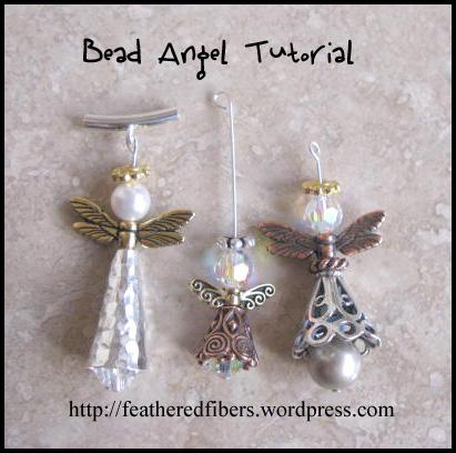 Cutter ornaments christmas easy crafts easy diy christmas ornaments - Angel Bead Tutorial Carla Barrett