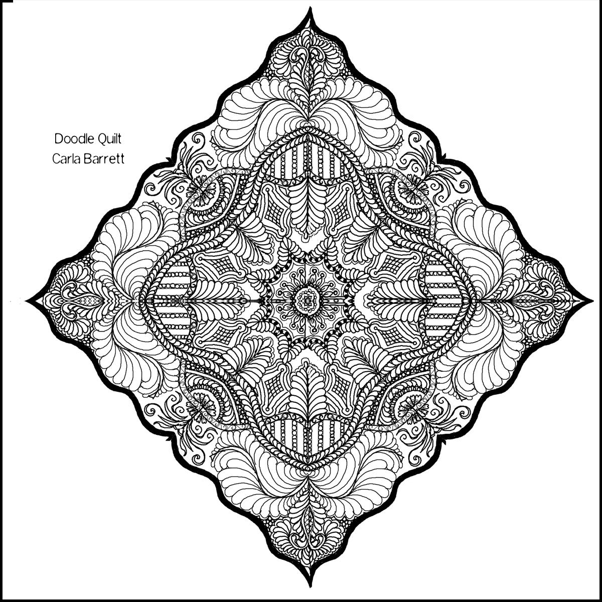 Class Sample Drawing | Carla Barrett : quilt drawing - Adamdwight.com