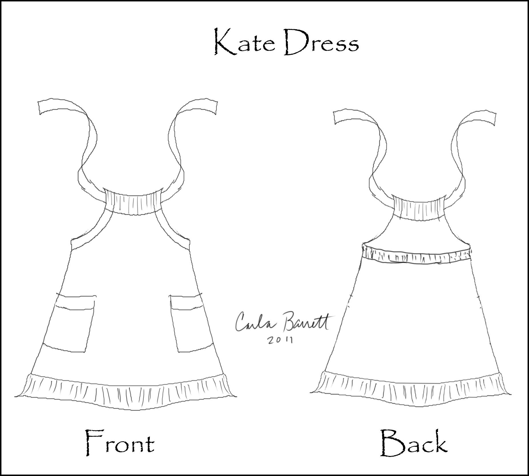 Sketches And Dresses Carla Barrett