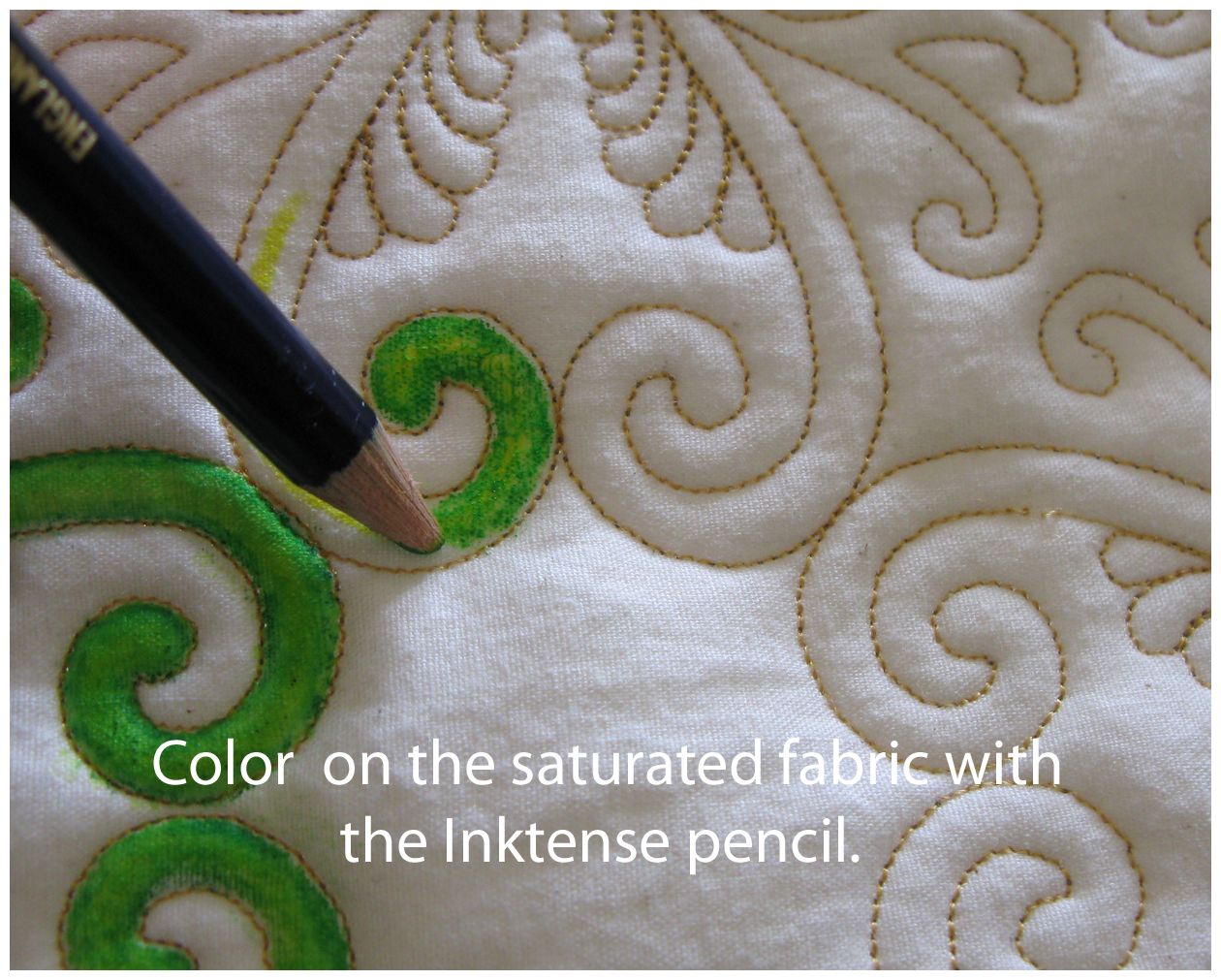 Inktense Fabric Paint Tutorial | Carla Barrett
