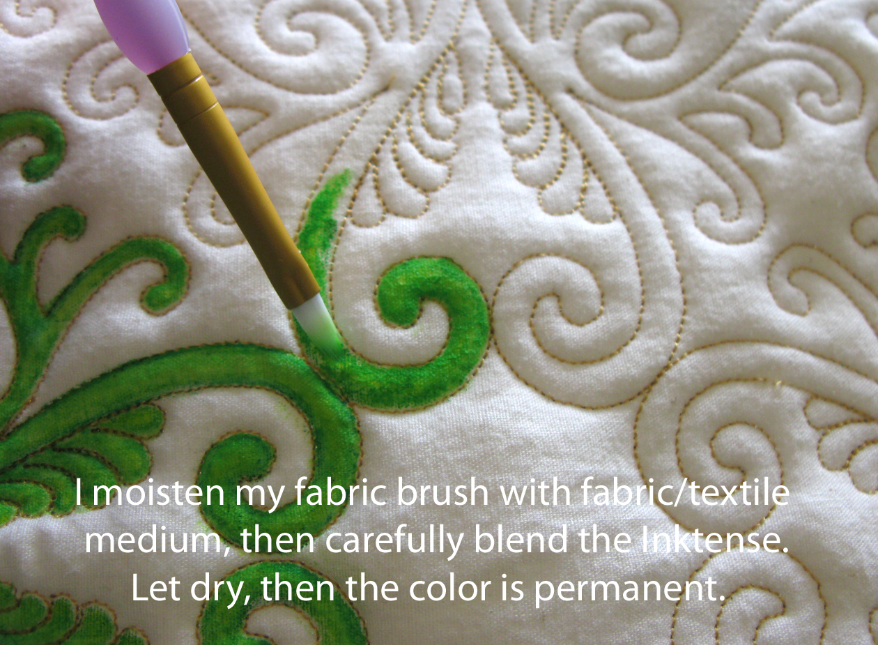 Fabric painting techniques made easy. Elegant or fun ideas