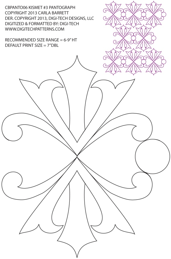 Design by Carla Barrett available at Digitech Patterns.com
