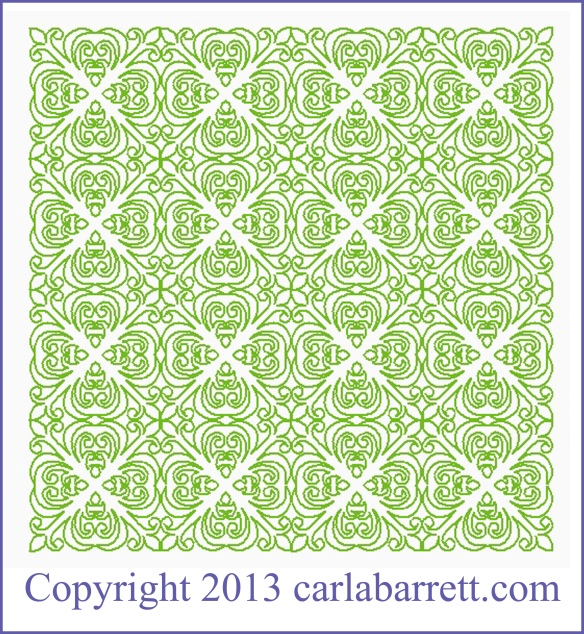 E2E design by Carla Barrett