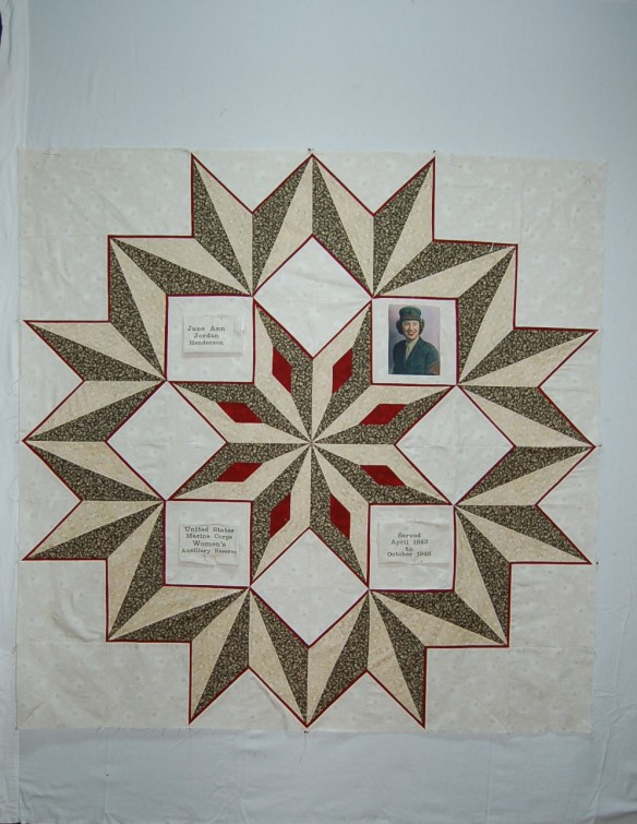 QOV quilt by Bobbie Jarrett and quilting by Carla Barrett
