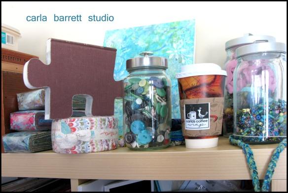 Carla Barrett Studio detail