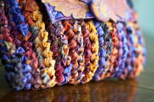 fabric crochet by Carla Barrett