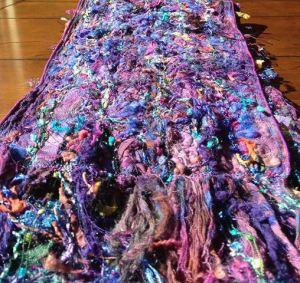 Free Lace scarf by Carla Barrett