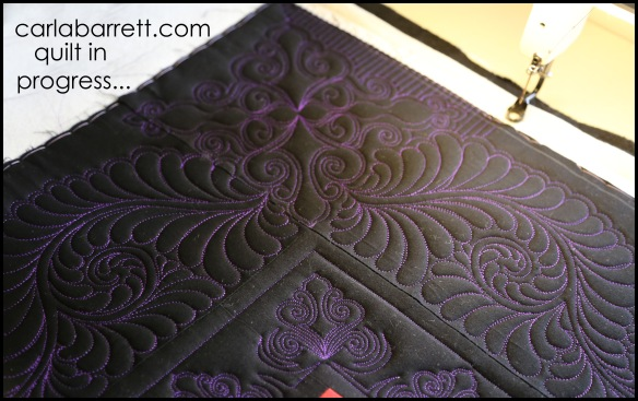 Quilting and design by Carla Barrett