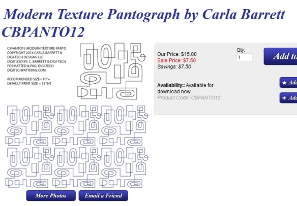modern texture by Carla Barrett