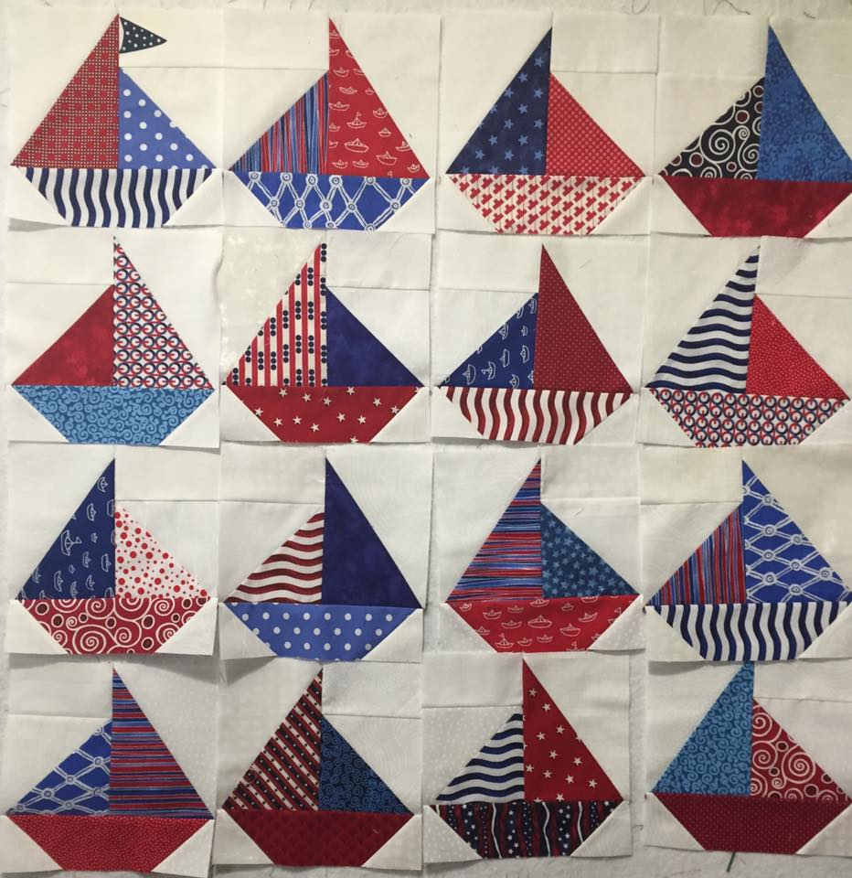 Sailboat Quilt Project Carla Barrett